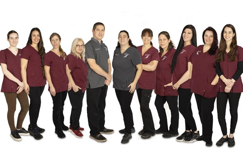 Equipe de la Clinique Vétérinaire Ami-Fidèle